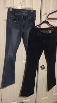 6long , left AE , right brand 2X , both size 6 L $8. Ea Harpers Ferry, 25425