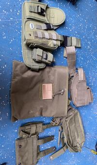 Army bags and airsoft holsters