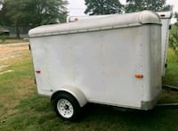 white and gray enclosed trailer Gaffney, 29341