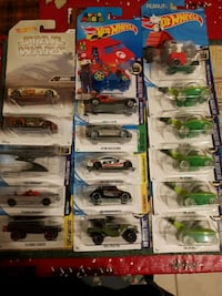 16 new HOT WHEELS CARS