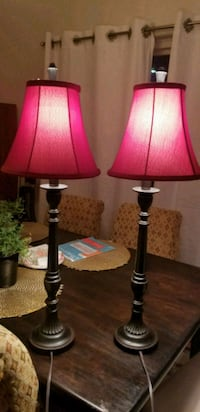 Red Table Lamp (Set of 2) Arlington, 22201