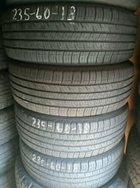 Advertising nice sets of used tires cheap Indianapolis