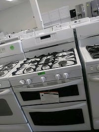 New Kenmore gas stove double oven