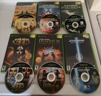 **RESERVED** XBOX STAR WARS COLLECTION LOT OG XBOX Montréal, H4C 3A3