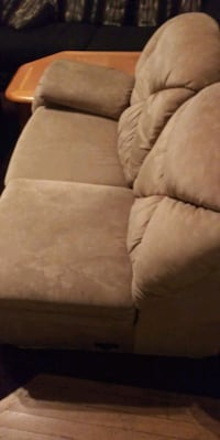 brown fabric 3-seat sofa Lakewood, 80235