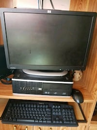 gray and black computer monitor and keyboard Winnipeg, R3C 2A8