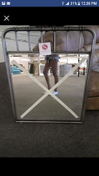 Standard Metal Mirror and Twin bed never used  Houston, 77024
