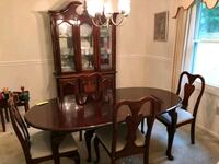 Cherrywood dining table set Silver Spring, 20903