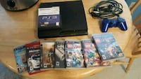 black Sony PS3 and games Springfield, 65803