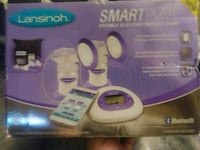 Brand new never used Lansinoh Smart Breast pump