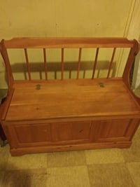 Bench with storage