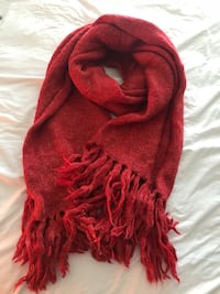 Red cashmere scarf  Richmond Hill, L3T 7Y1