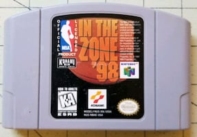 NBA In The Zone '98 for Nintendo 64 N64