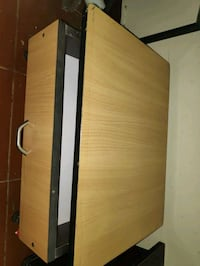 brown and black ply wood study table Chennai, 600089