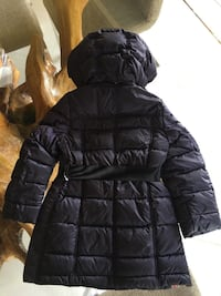 $450 AUTH BURBERRY GIRLS MINI DALESFORD HOODED PUFFER PARKA JACKET NOVA CHECK 4T LONDON