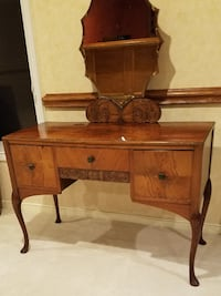 Antique French Bureau AND Vanity - $225  Sterling