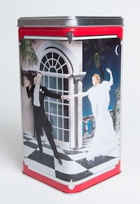 Vintage Ritz Tin Container, Tin Canister, 1990 Special Edition