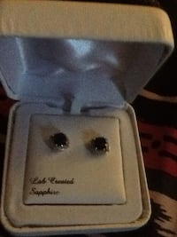 Sapphire and Diamond earrings  Gaithersburg, 20877