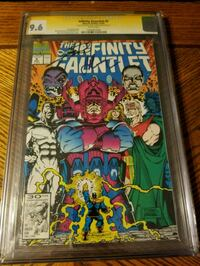 Double signed/graded Infinity Gauntlet 5 Syracuse