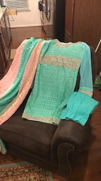 Pakistani Indian party wedding wear  Manassas Park, 20111