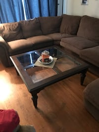 rectangular black wooden coffee table Hagerstown, 21742