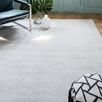 West Elm lucent rug 5x8 Frost Gray