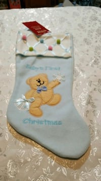 Baby's first christmas stocking  Bristol, 24201