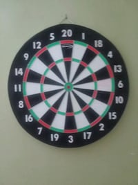 black, white, green, and red dartboard Lansing, 48910