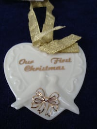 OUR FIRST CHRISTMAS ornament East Gwillimbury