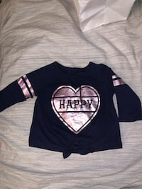 0-3 months top new navy blue  Toronto, M3N