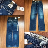 Boys size 12 Ariat Jeans  East Grand Forks, 56721