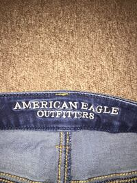 American Eagle Blue and white denim faded skinny jeans Bellevue, 68005