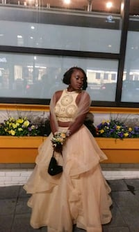 Champaign Yellow prom dres Germantown, 20874