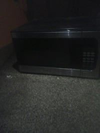 black and gray microwave oven Atco, 08004