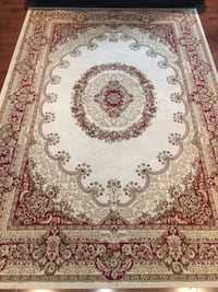 White, red, and brown floral area rug Hamilton, L8E 1H8