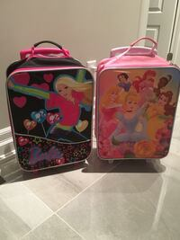 Girls travel luggage on wheels  Laval, H7K 0B5