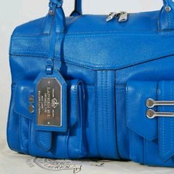 fe0c9b468 Used Ralph Lauren Leather handbag Blue for sale in Leicester - letgo
