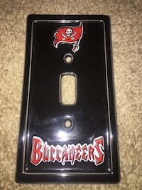 Buccs light switch cover. Used but clean  Las Vegas, 89183