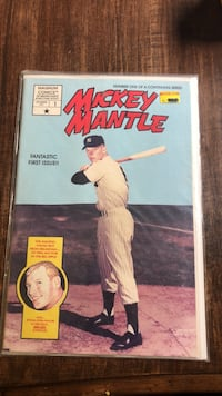 Mickey Mantle  comic book Commack, 11725