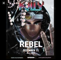 KILLY REBEL 2 TICKET $140 TOTAL Vaughan, L6A 0X2