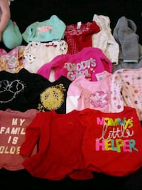 toddler's assorted clothes Louisville, 44641