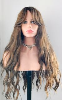 Long Wavy Wig for Everyday Calgary, T2P