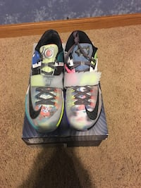 """KD 7 """"What The"""" Size 12 604 mi"""