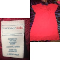 women's pink and black dress Brownsville, 78526