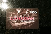 Brewhouse gift card!