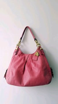 COACH Dark Pink Genuine Leather Bag  Toronto, M4Y 0B9