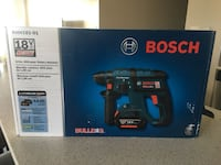 "Bosch 18V Cordless 3/4"" SDS-Plus Rotary Hammer Drill Brand New Calgary"