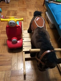 Rocking horse and Baby riding toy