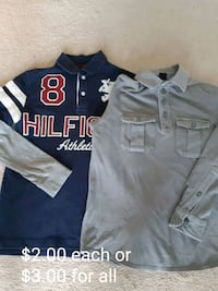 Boy's Long Sleeve Shirts Gap, Tommy Hilfiger  Mississauga, L5B 4L2