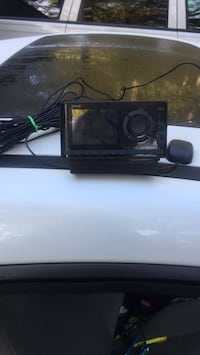 black 2-DIN car stereo head unit Washington, 20024